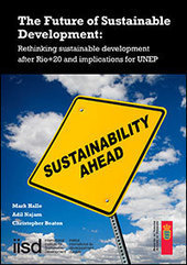 Book: The Future of Sustainable Development: Rethinking sustainable development after Rio+20 and implications for UNEP | Chuchoteuse d'Alternatives | Scoop.it