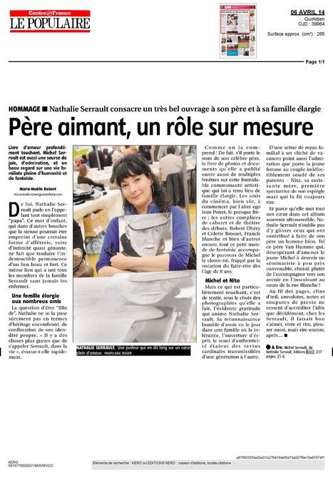 Le Populaire du centre - Nathalie Serrault raconte...   Nathalie Serrault   Scoop.it