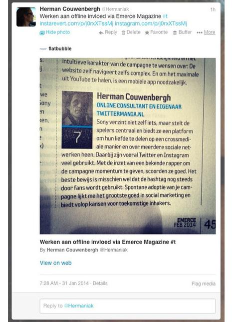 Cool! Tooltje laat Instagramfoto's weer inline op Twitter verschijnen! - Twittermania | Sociale Media in Nederland & België | Nederlands (Tomas Jansma) | Scoop.it