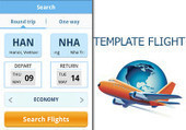 Flight App Template for Android | Android | Java | ChupaMobile | Convertion of c# to android | Scoop.it