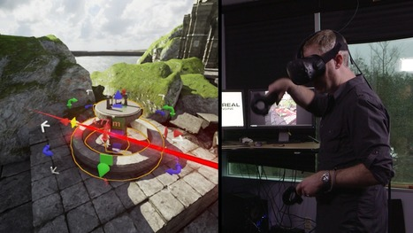 The Unreal Engine now lets you build games inside virtual reality   Games, gaming and gamification in Higher Education   Scoop.it