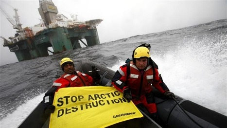 Russia begins offshore drilling in Arctic | Arctic 30 | Scoop.it