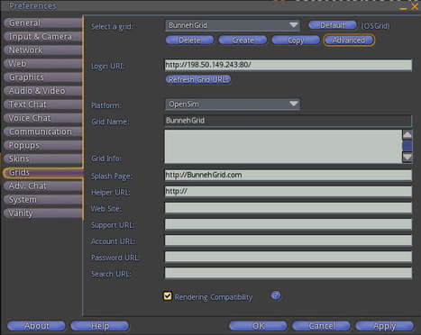 BunnehGrid • Just a quick screenshot of your viewer's login...   Second Virtual Life   Scoop.it
