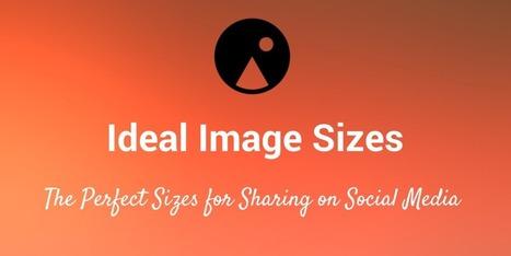 Guía actualizada con los tamaños ideales para publicar en cada red social | Redes Sociales | Scoop.it