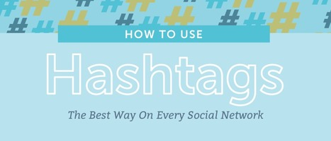 How To Use Hashtags The Right Way On Every Social Network | Data of Big Interest | Scoop.it