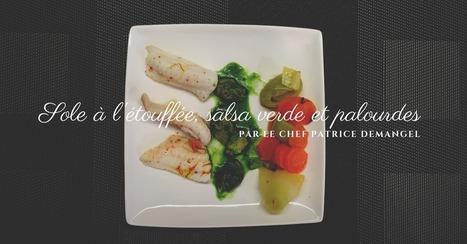 Recette de sole à l'étouffée, salsa verde et palourdes | Cuisine et cuisiniers | Scoop.it