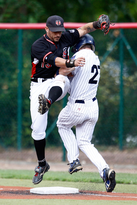 Play offs Championnat de France 2011 : ce sera Rouen Toulouse | Rouen Baseball 76 | Huskies | Rouen | Scoop.it