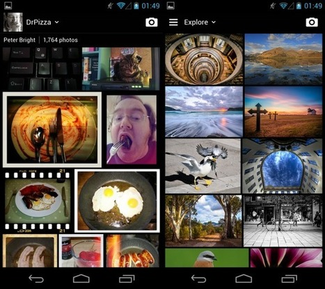 Yahoo gives Flickr a new face, a new app, and a new business model : Gizmo Tech News | Technology news | Scoop.it