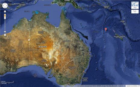 Référencée par Google Earth, Sandy Island n'existe pas   - RTL.fr   Nov@   Scoop.it