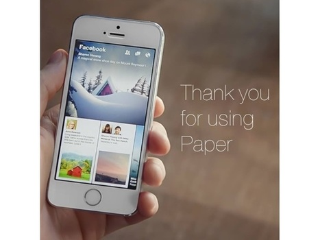 Facebook Takes Scissors to Paper App | SocialTimes | SocialMoMojo Web | Scoop.it