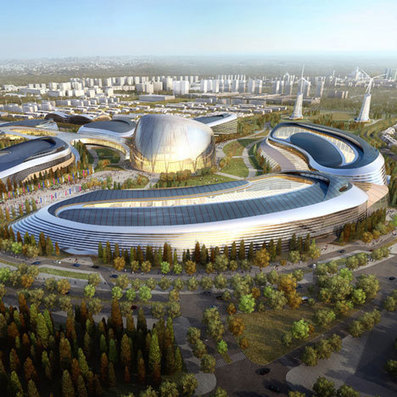 Adrian Smith + Gordon Gill Architecture to design Astana Expo 2017 | Architecture | Scoop.it