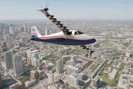 Un avion équipé de 14 moteurs électriques : le transport aérien zéro carbone selon la NASA | Energies Renouvelables | Scoop.it