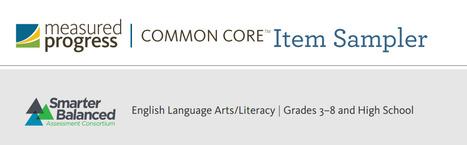 Smarter Balanced English Language Arts/Literacy   Grades 3–8 and High School Item Sampler   Education Leadership   Scoop.it