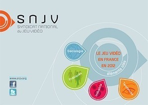 Eléments clés du jeu vidéo en France en 2012 (SNJV) | MusIndustries | Scoop.it