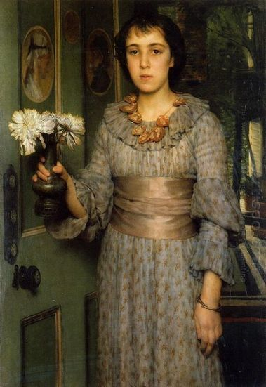Oil painting reproduction: Sir Lawrence Alma-Tadema Anna Alma-Tadema - Artisoo.com | arts&oil | Scoop.it