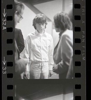 MICK JAGGER 35mm Vintage Camera Original Negative ROLLING STONES #870 @MickJagger @RollingStones | Keith Russell Collections | Scoop.it