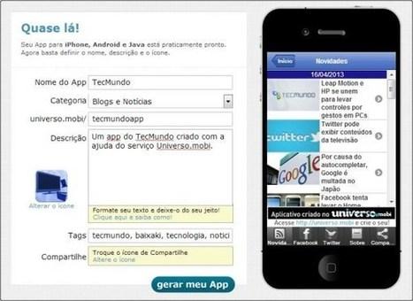 Como criar aplicativos para smartphones sem saber programar | Linguagem Virtual | Scoop.it