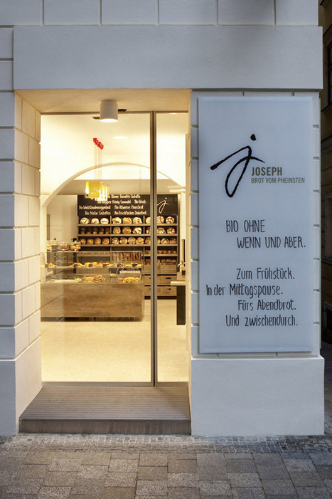 Joseph – bakery interior & branding, Vienna | Retail Design Review | Scoop.it