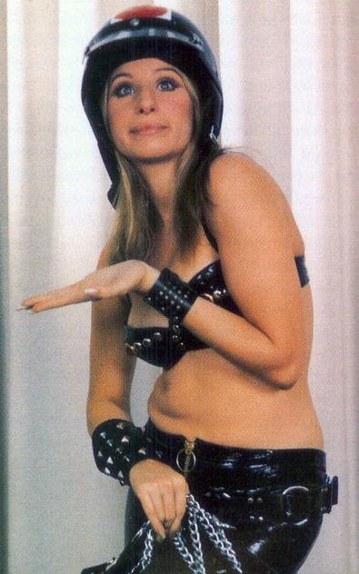 'Cycle Slut' Barbra Streisand gets naughty in BDSM photoshoot, 1970 | Love n Sex n Whatnot | Scoop.it