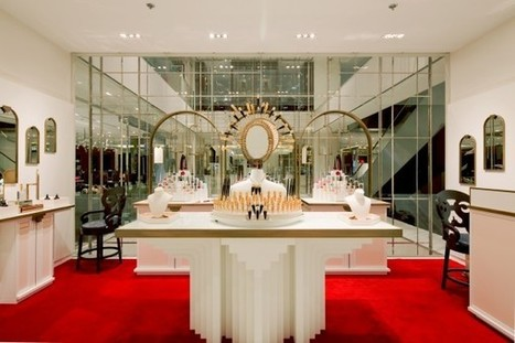 Christian Louboutin, un corner beauté au Printemps pour shopper à Noël - Fashion Spider | Spider News | Scoop.it