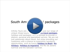 South America travel packages | luxury South America and Central America tours | Scoop.it