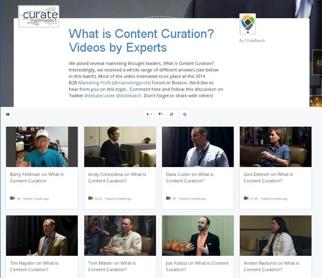 Content Curation Defined and Illustrated by Marketing Experts: a Video Collection | Content Curation World | Scoop.it