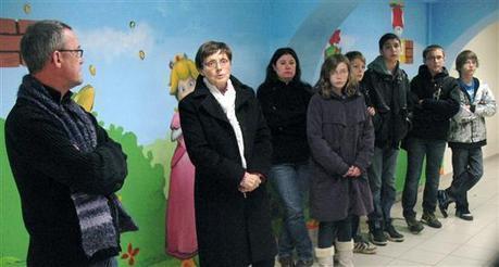 Précy-sous-Thil | Précy-sous-Thil : une fresque au local jeunes - Le Bien Public | Auxois-Morvan News | Scoop.it