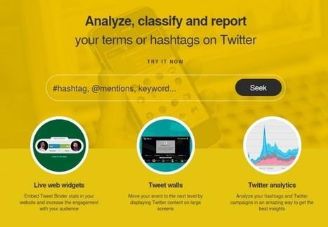 Nuevo Tweet Binder, la plataforma de análisis de Twitter | Herramientas digitales | Scoop.it