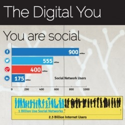 The Digital You Matters: Identity in the Internet Age | Visual.ly | Digital Media Research | Scoop.it