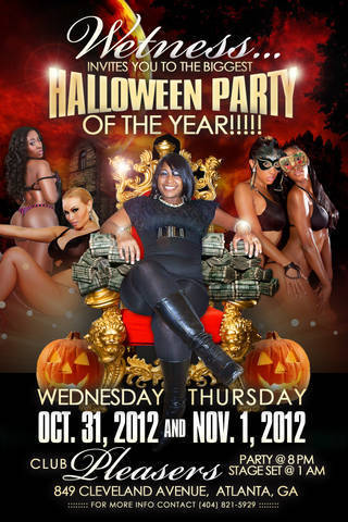 Wetness Birthday party @Pleasers 849 Cleveland Ave Oct 31st & Nov 1 | GetAtMe | Scoop.it