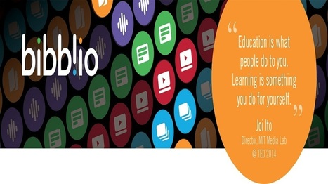 Bibblio: Social and Open Learning Tool Launches in time for the New Academic Year - | immersive media | Scoop.it