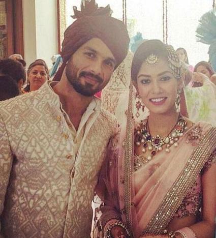 #ShahidKiShaadi Shahid Kapoor Mira Rajput Wedding Pics | Bollywood Updates | Scoop.it