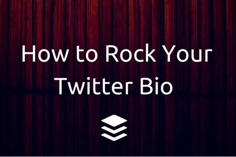 The 7 Key Ingredients of a Powerful Twitter Bio | Community Managers Unite | Scoop.it