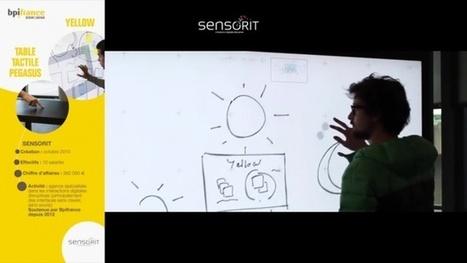 Yellow de Sensorit : logiciel interactif | Outils et pratiques innovantes de formation | Scoop.it