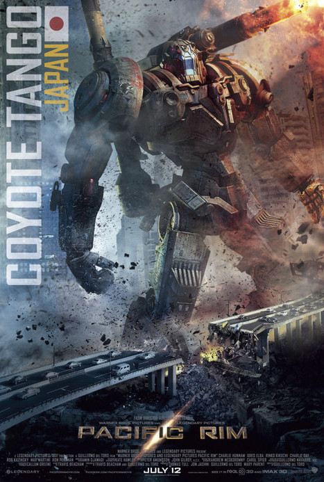 COYOTE TANGO: Techno-Tyrant Leaves Path Of Destruction On New Pacific Rim Poster | Comic Books | Scoop.it