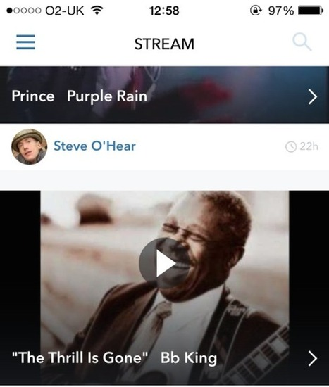 Music Streaming Social Network Whyd Gets An iOS App   TechCrunch   Digital music applied to branded experience   Scoop.it