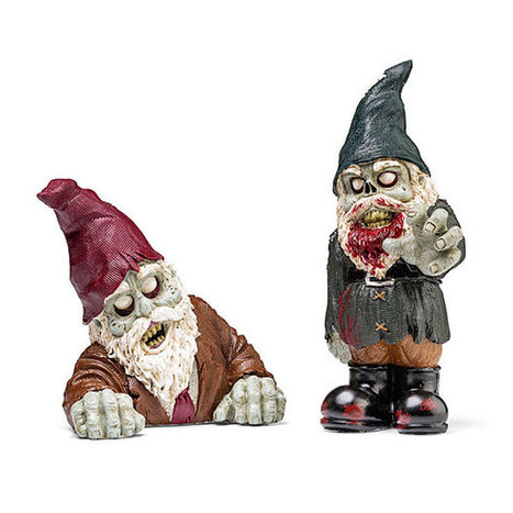 Zombie Garden Gnomes Aren't as Creepy as Normal Garden Gnomes | All Geeks | Scoop.it