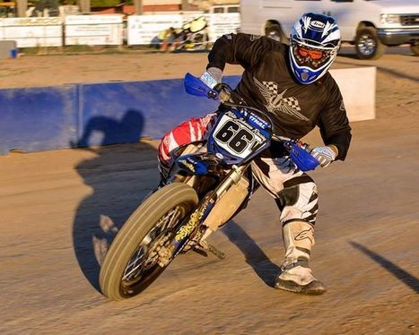 Look who's back from retirement. (photo courtesy of Haughs Photography) | California Flat Track Association (CFTA) | Scoop.it