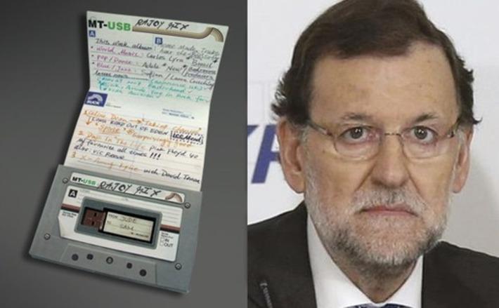 Mariano Rajoy intenta recuperar la confianza de los españoles grabándoles un cassette con sus canciones preferidas | Partido Popular, una visión crítica | Scoop.it