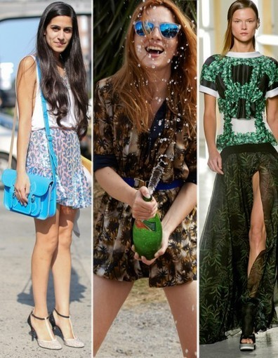 Des podiums à nous : les 15 tendances pour le printemps 2013 : Montage damiers | Mode Trends | Scoop.it