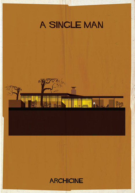 Coolest Architectural Movie Houses Illustrated - Design Milk | Visual & digital texts | Scoop.it