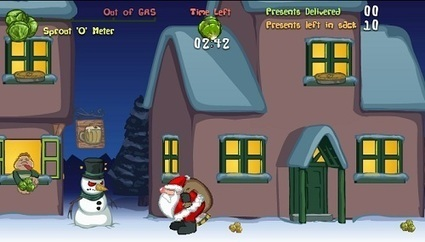Santa Farty Pants - A classic game from Matmi | Online Web Games | Scoop.it