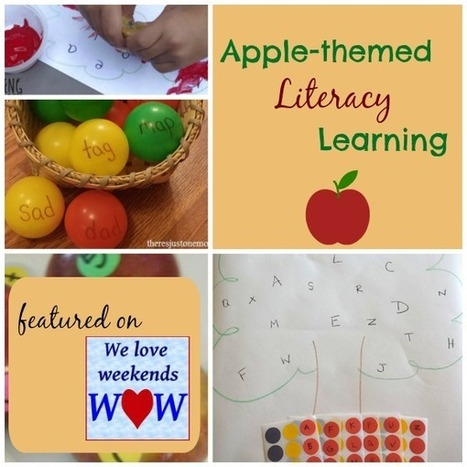 Apple-themed Literacy Learning - WOW Linky | Literacy | Scoop.it