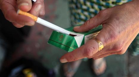 Il serait plus difficile d'arrêter les cigarettes mentholées | Toxique, soyons vigilant ! | Scoop.it