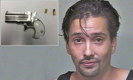 Man gets booked into Oklahoma jail with loaded Derringer pistol hidden in his rectum | MORONS MAKING THE NEWS | Scoop.it