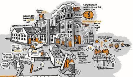 La metáfora de la escuela como factoría | Bibliotecas Escolares: Destrezas de información y Herramientas relacionadas | Scoop.it