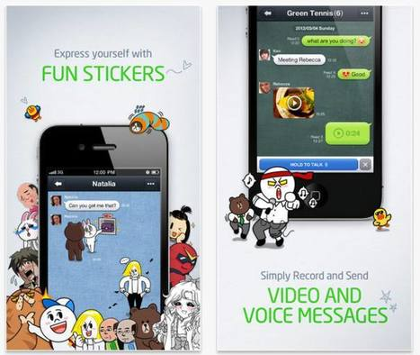 LINE: la competencia a Whatsapp llega de Japón | IPAD, un nuevo concepto socio-educativo! | Scoop.it
