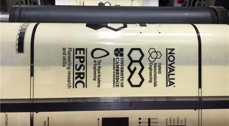Nuovo inchiostro al grafene per la stampa roll to roll | Digital publishing and printing | Scoop.it