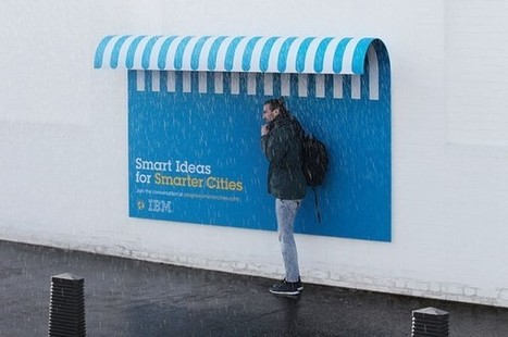 Smart billboard par IBM | streetmarketing | Scoop.it