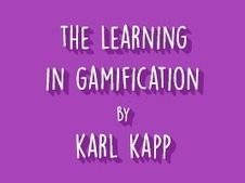 THE LEARNING IN GAMIFICATION - Learnnovators | Learnobytes | Scoop.it